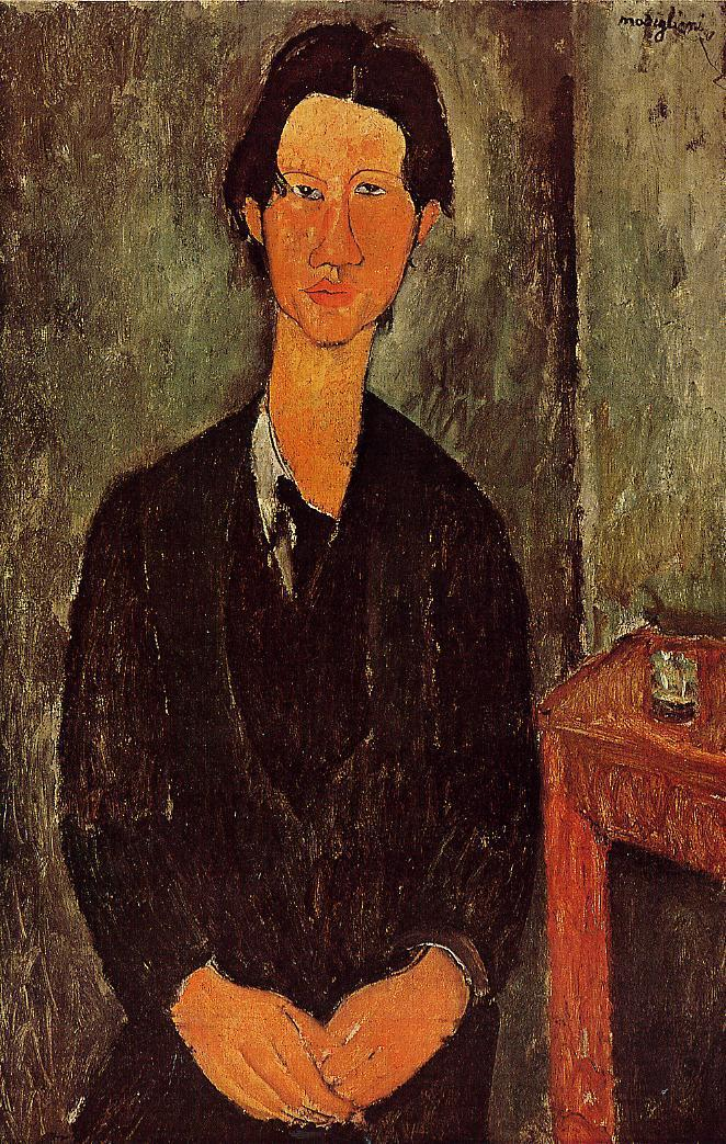Portrait of Chaim Soutine 1917 | Amedeo Modigliani | Oil Painting