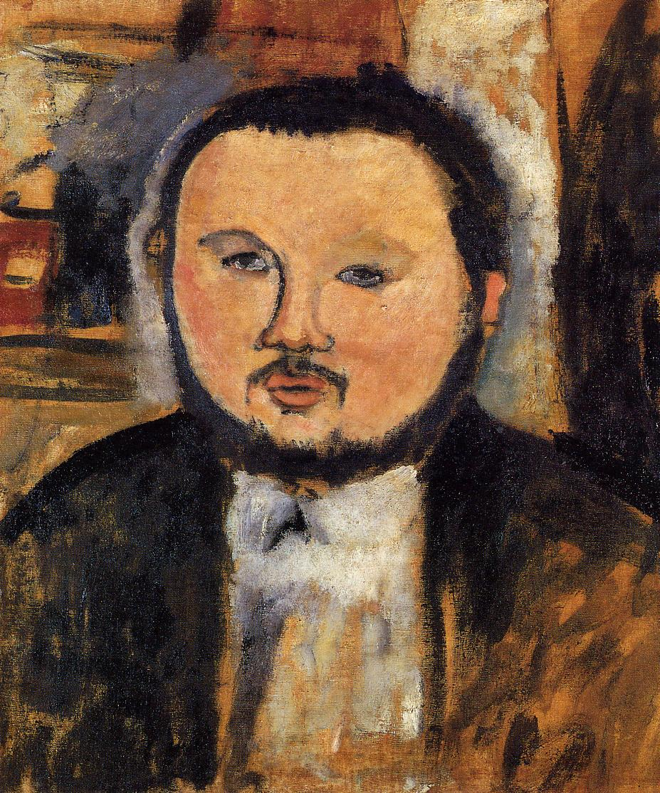 Portrait of Diego Rivera 1914 | Amedeo Modigliani | Oil Painting