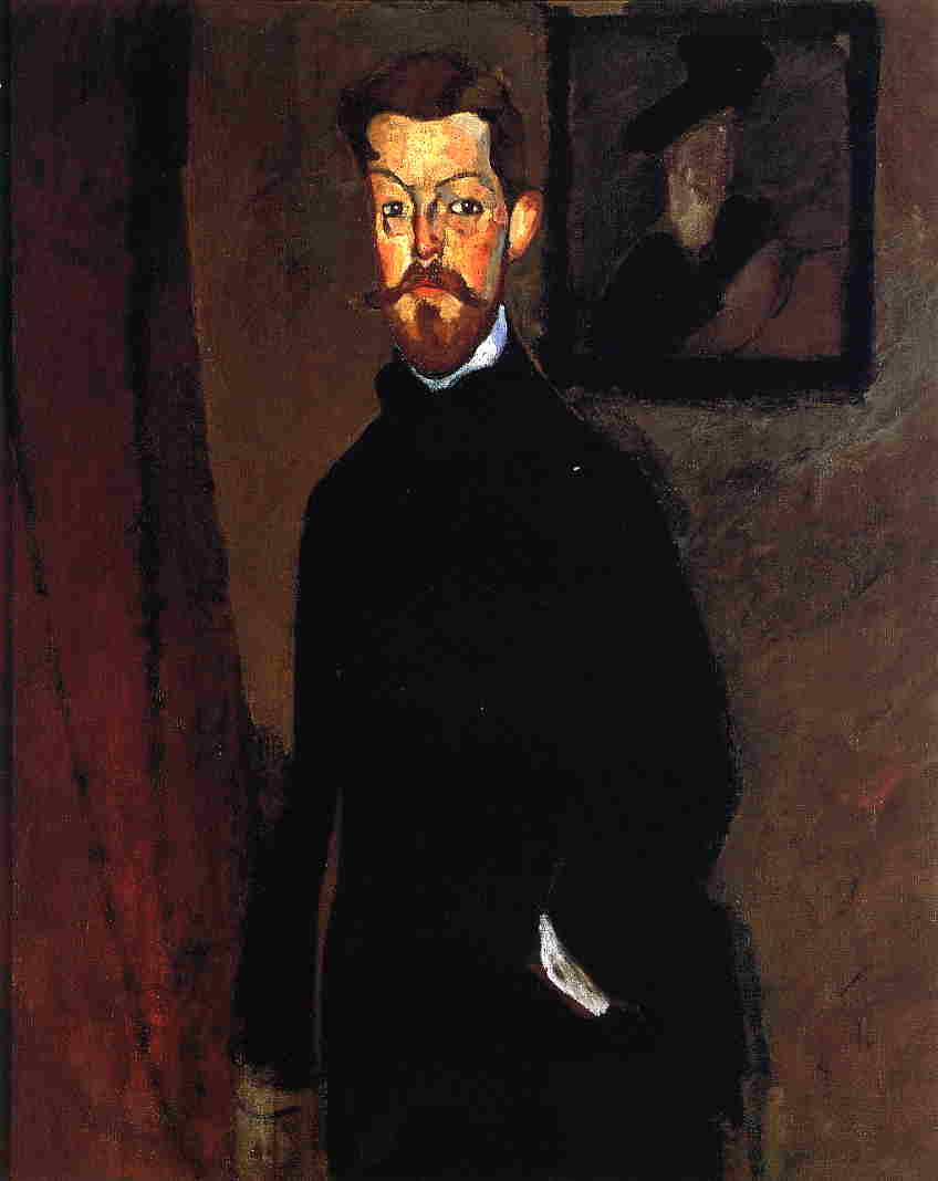 Portrait of Dr. Paul Alexandre 1909 | Amedeo Modigliani | Oil Painting