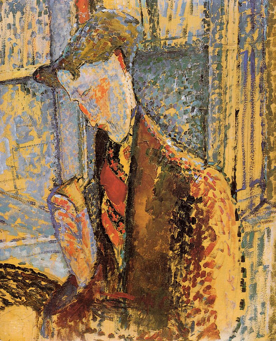 Portrait of Frank Burty Haviland 1914 | Amedeo Modigliani | Oil Painting