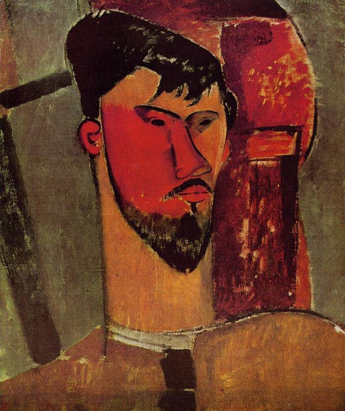 Portrait of Henri Laurens 1915 | Amedeo Modigliani | Oil Painting