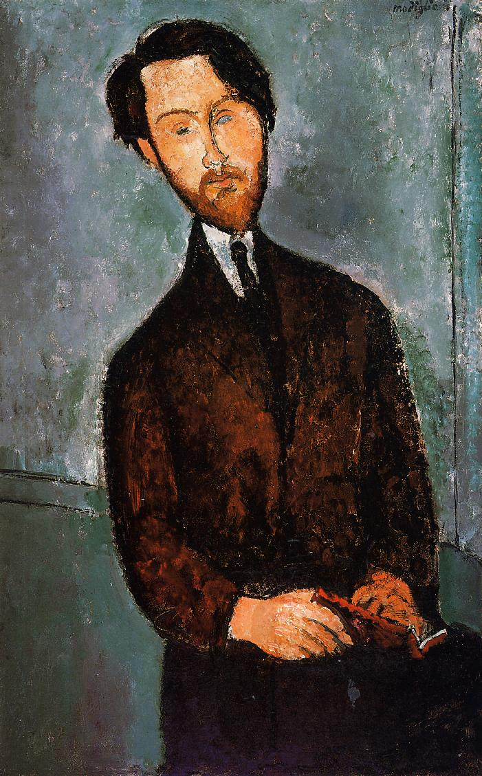 Portrait of Leopold Zborowski 1916 1917 | Amedeo Modigliani | Oil Painting