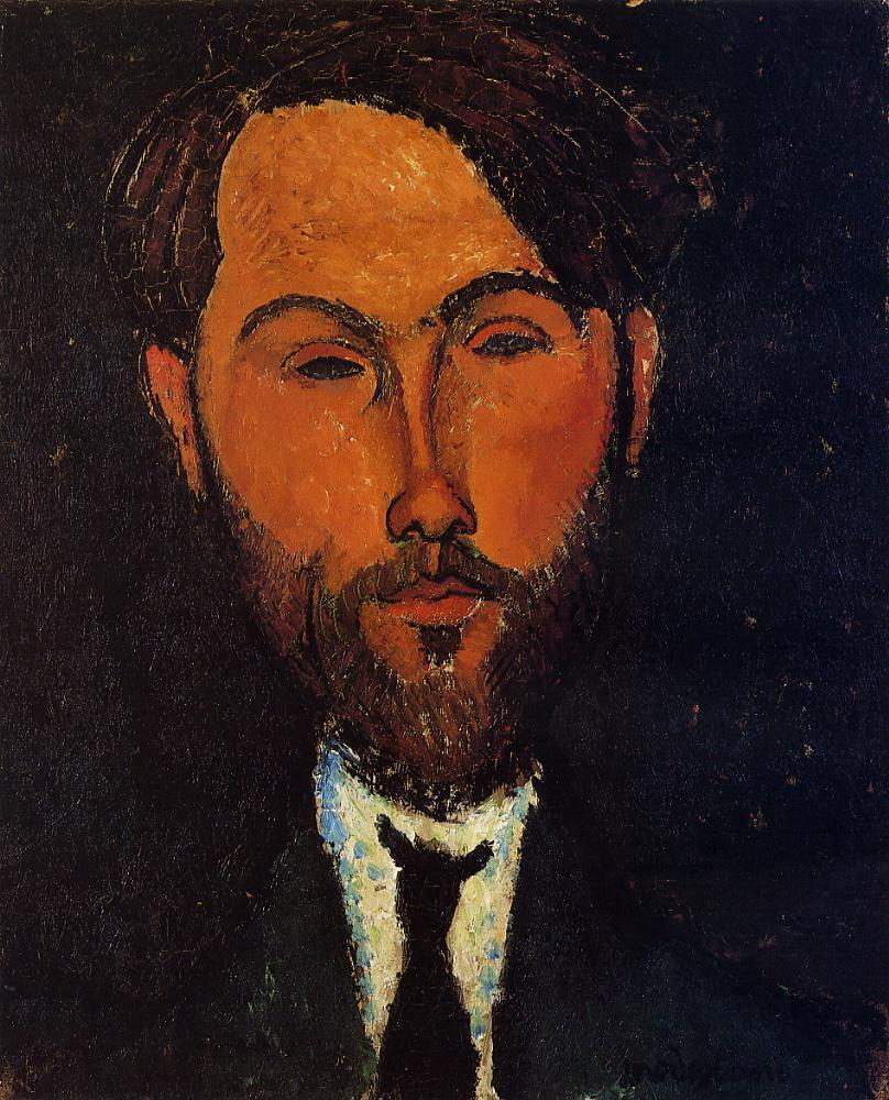 Portrait of Leopold Zborowski 1917 1918 | Amedeo Modigliani | Oil Painting