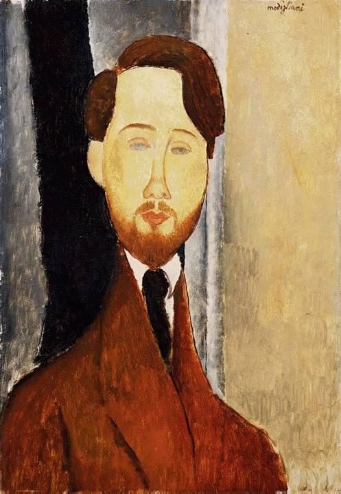 Portrait of Leopold Zborowski 1919 | Amedeo Modigliani | Oil Painting