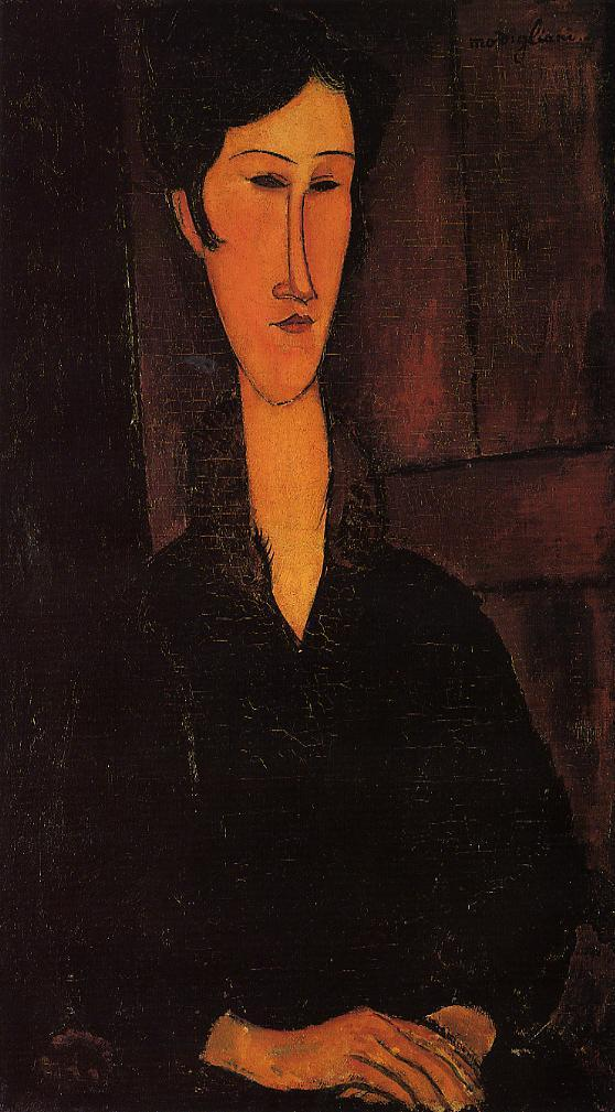 Portrait of Madame Zborowska 1917 | Amedeo Modigliani | Oil Painting
