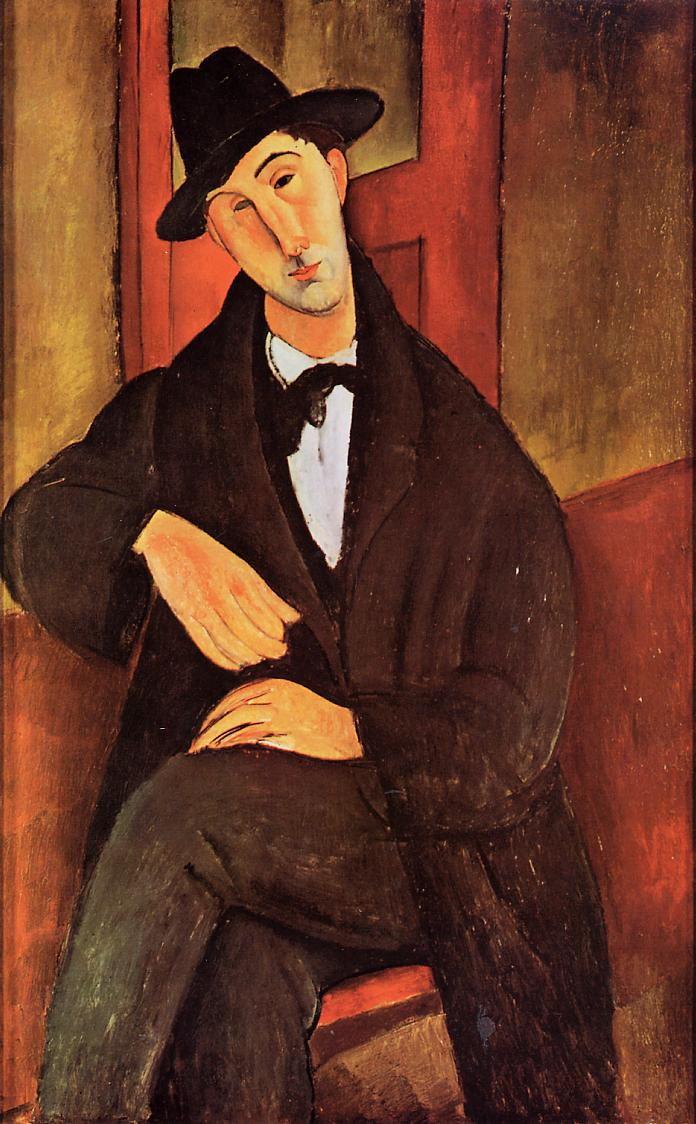 Portrait of Mario Varvogli 1919 1920 | Amedeo Modigliani | Oil Painting
