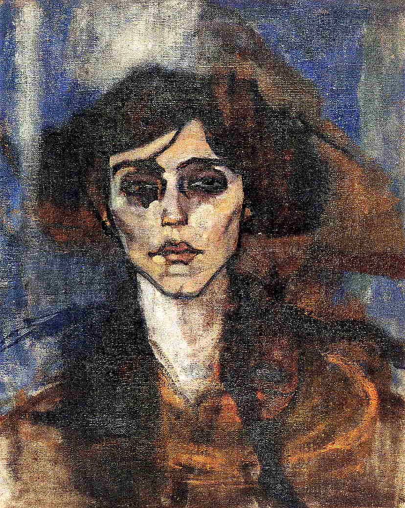 Portrait of Maude Abrantes 1907 | Amedeo Modigliani | Oil Painting