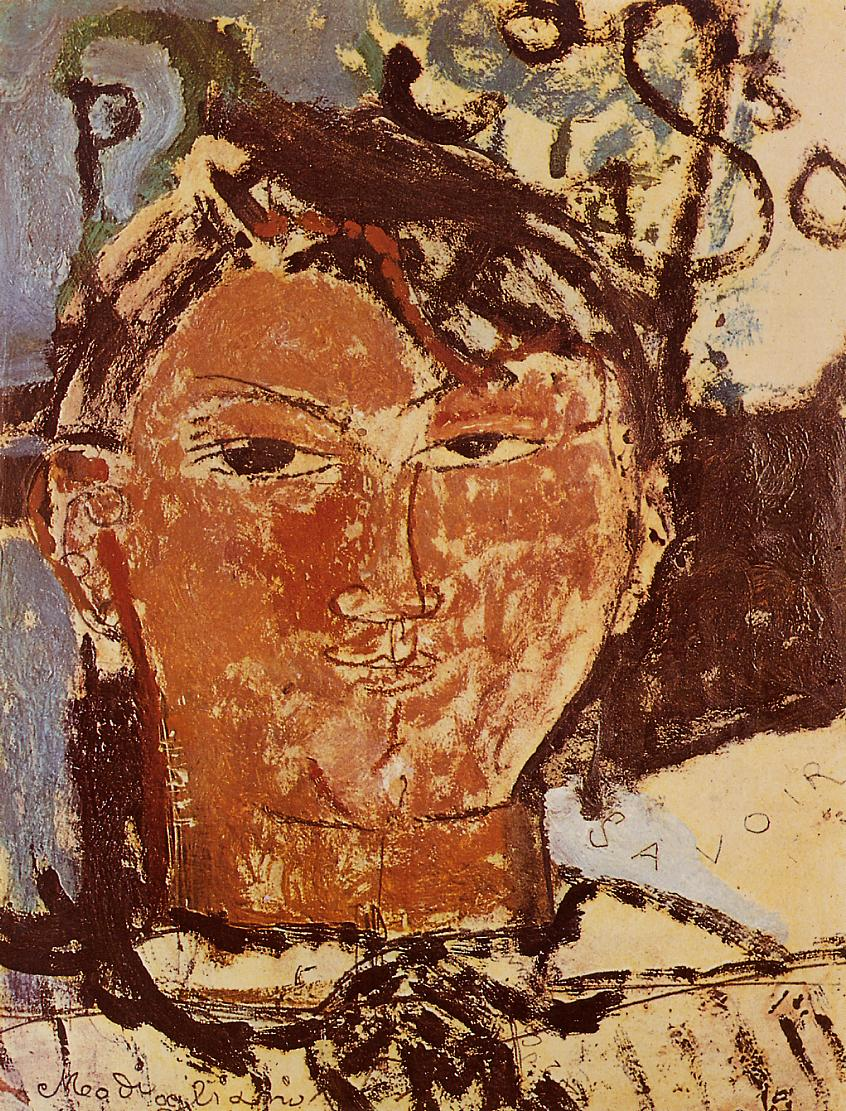 Portrait of Pablo Picasso 1915 | Amedeo Modigliani | Oil Painting