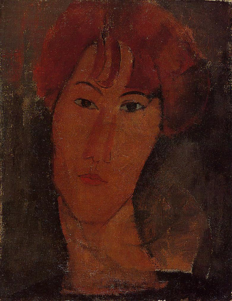 Portrait of Pardy 1917 | Amedeo Modigliani | Oil Painting