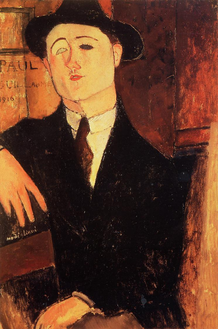 Portrait of Paul Guillaume 1916 | Amedeo Modigliani | Oil Painting
