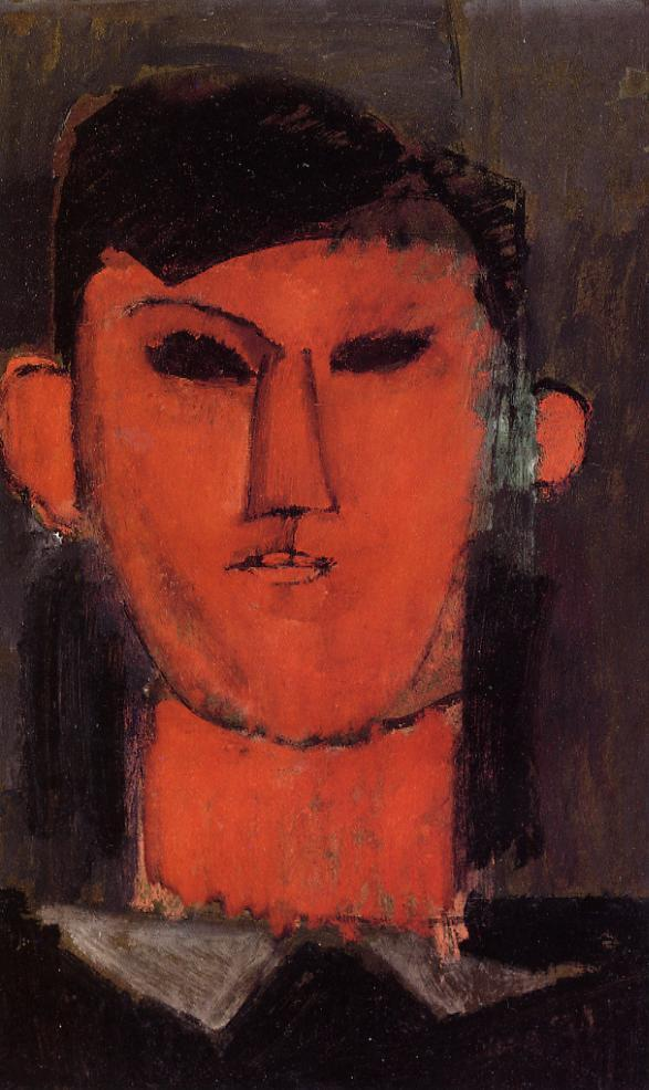 Portrait of Picasso 1915 | Amedeo Modigliani | Oil Painting