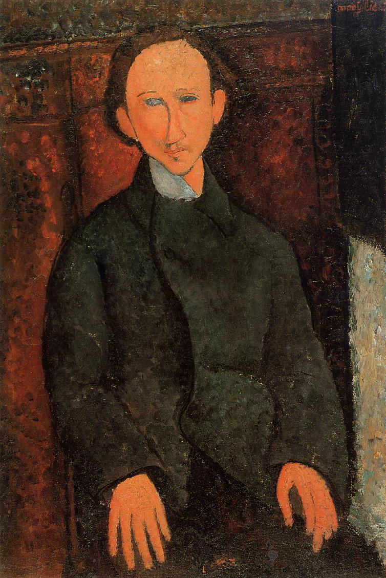 Portrait of Pinchus Kremenge 1916 | Amedeo Modigliani | Oil Painting