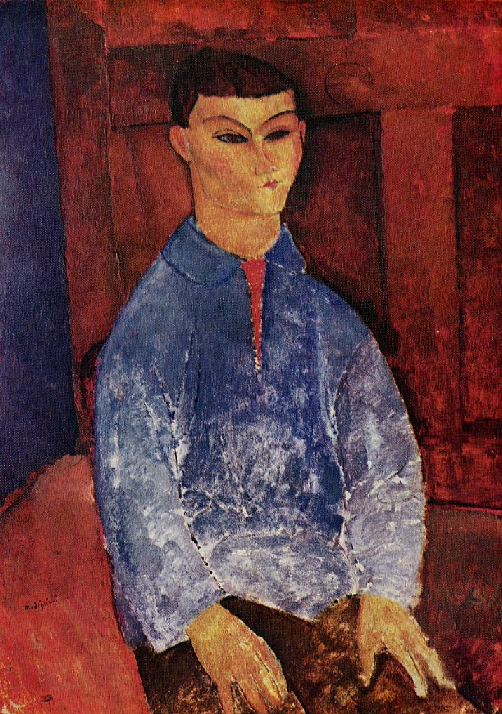 Portrait of the Painter Moise Kisling 1915 1916 | Amedeo Modigliani | Oil Painting