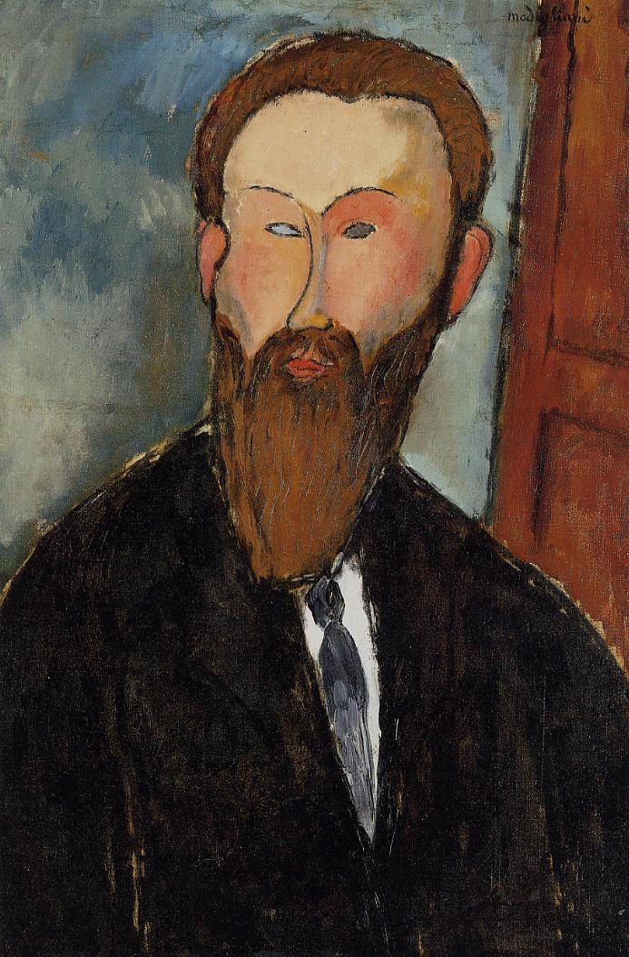 Portrait of the Photographer Dilewski 1916 | Amedeo Modigliani | Oil Painting