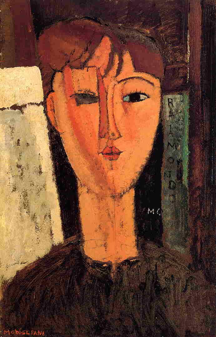 Raimondo 1915 | Amedeo Modigliani | Oil Painting