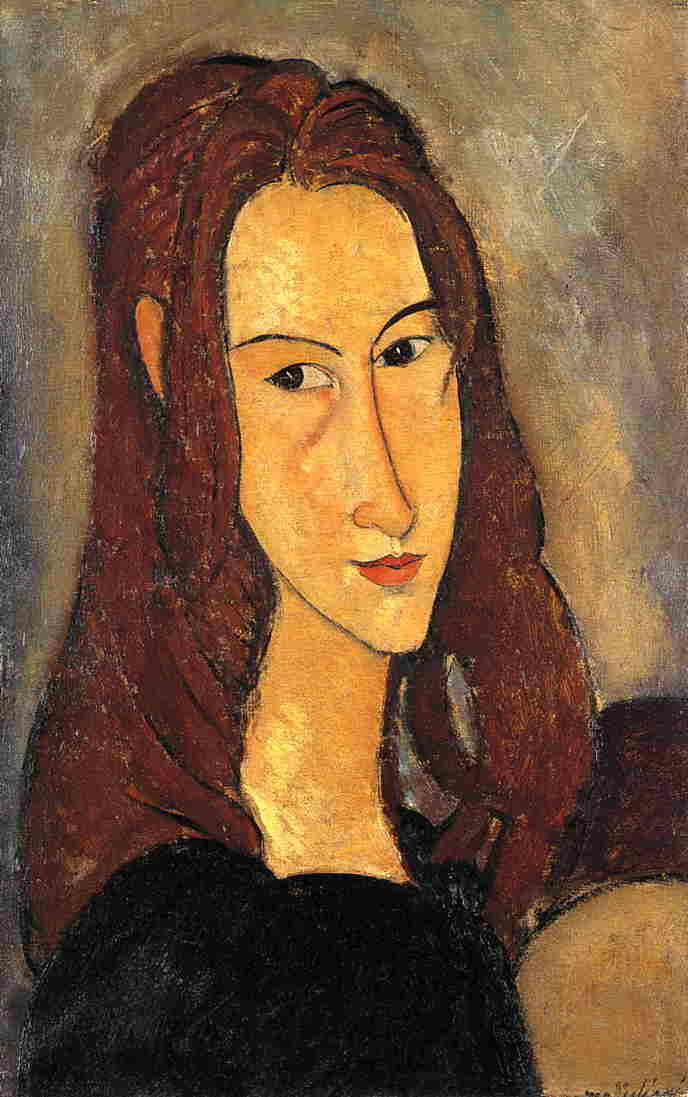 Red Haired Girl 1918 | Amedeo Modigliani | Oil Painting