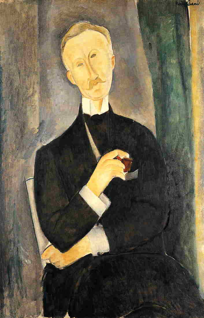 Roger Dutilleul 1919 | Amedeo Modigliani | Oil Painting