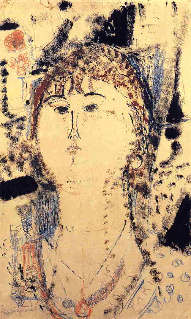 Rosa Porprina 1915 | Amedeo Modigliani | Oil Painting