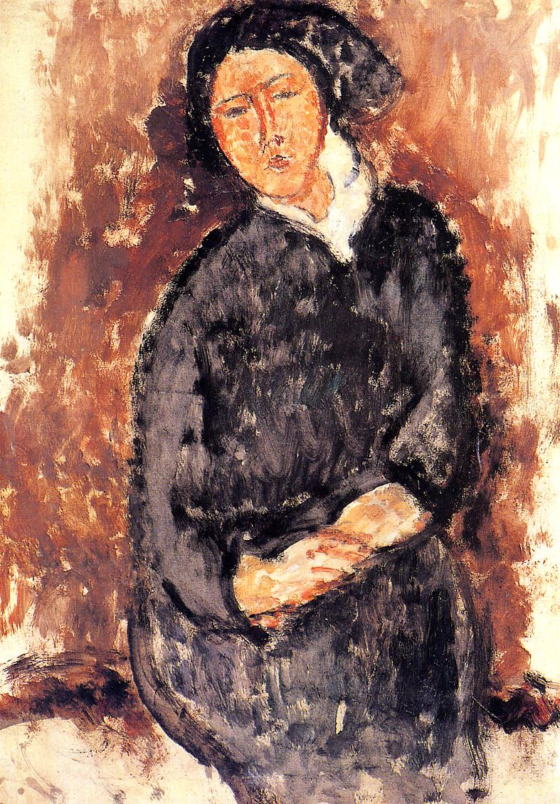 Seated Woman 1919 | Amedeo Modigliani | Oil Painting