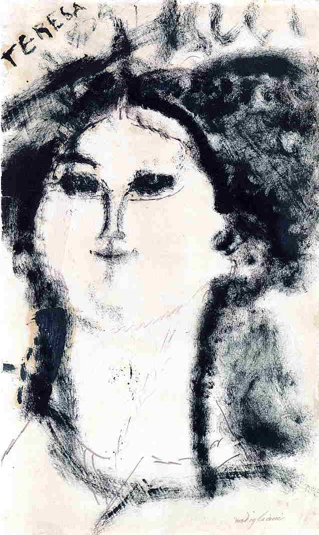 Teresa 1915 | Amedeo Modigliani | Oil Painting