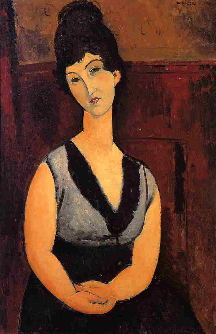The Beautiful Confectioner 1916 | Amedeo Modigliani | Oil Painting