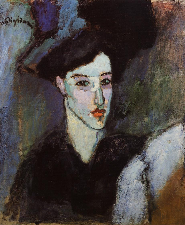 The Jewish Woman 1908 | Amedeo Modigliani | Oil Painting
