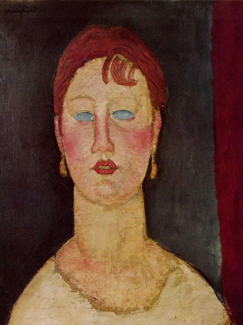 The Singer from Nice 1918 1919 | Amedeo Modigliani | Oil Painting