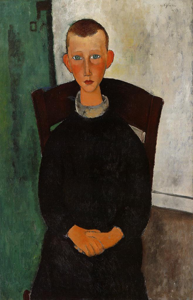 The Son of the Concierge 1918 | Amedeo Modigliani | Oil Painting