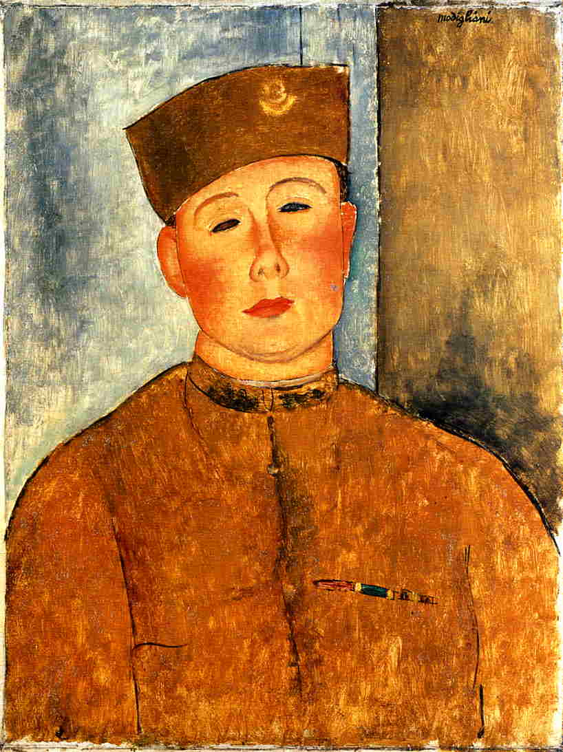 The Zouave 1918 | Amedeo Modigliani | Oil Painting