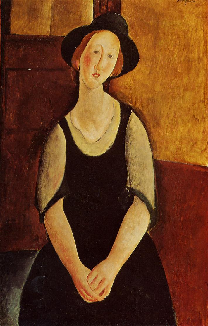 Thora Klinckowstrom 1919 | Amedeo Modigliani | Oil Painting