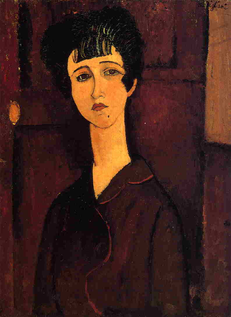 Victoria 1916 | Amedeo Modigliani | Oil Painting