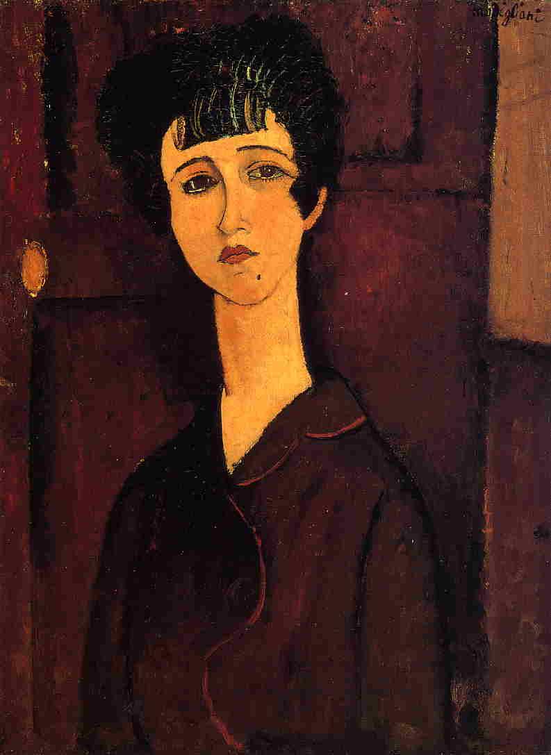 Victoria 1916 | Amedeo Modigliani | Oil Painting