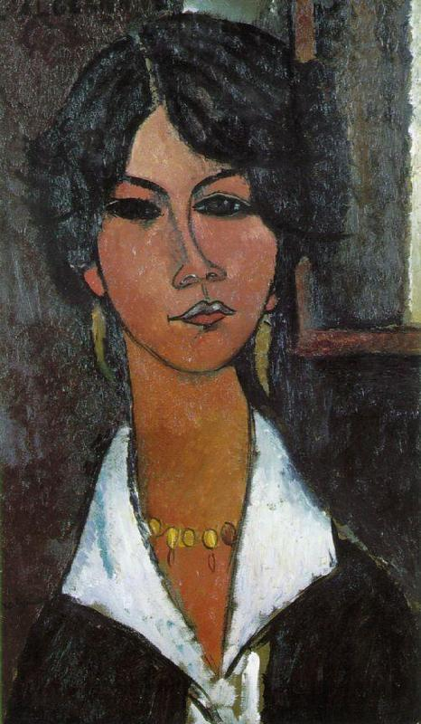 Woman of Algiers (aka Almaisa) 1917 | Amedeo Modigliani | Oil Painting