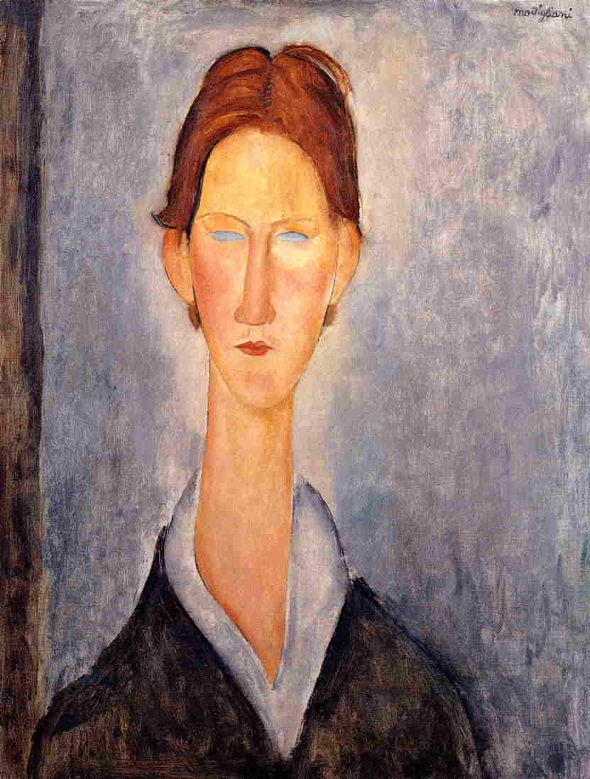 Young Man (aka Student) 1919 | Amedeo Modigliani | Oil Painting