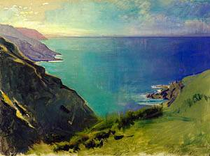 Cornish Headlands 1898 | Abbott Handerson Thayer | Oil Painting