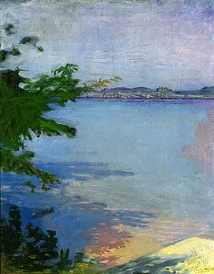 Dublin Pond New Hampshire 1894 | Abbott Handerson Thayer | Oil Painting