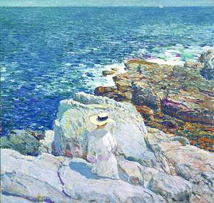 The South Ledges Appledore 1913 | Childe Hassam | Oil Painting