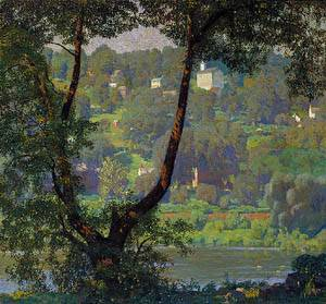 Tohickon 1920 | Daniel Garber | Oil Painting