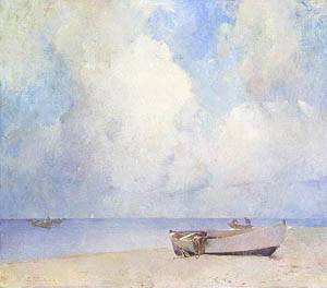 The South Strand About 1909 | Emil Carlsen | Oil Painting