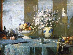 Still Life About 1926 | Frank W Benson | Oil Painting