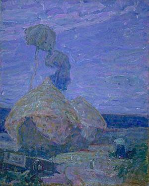 Haystacks About 1930 | Henry Ossawa Tanner | Oil Painting