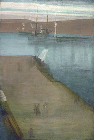 Valparaiso Harbor 1866 | James McNeill Whistler | Oil Painting