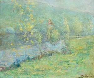 Misty May Morn 1899 | John Henry Twachtman | Oil Painting