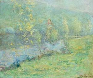 Misty May Morn 1899 | John Henry Twachtman | Oil Painting