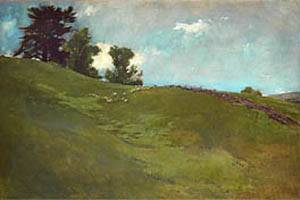 Landscape Cornish New Hampshire About 1890 | John White Alexander | Oil Painting