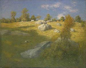 Upland Pasture About 1905 | J Alden Weir | Oil Painting