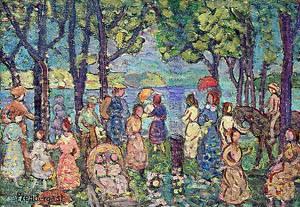 Summer New England 1912 | Maurice Prendergast | Oil Painting