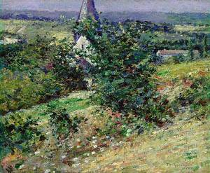 Old Church At Giverny 1891 | Theodore Robinson | Oil Painting