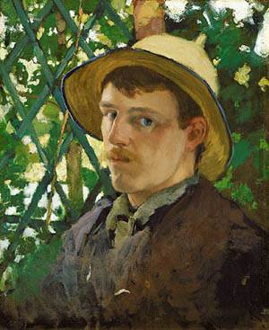 Self Portrait At Montigny 1876 | Ocean's Bridge Artist | Oil Painting
