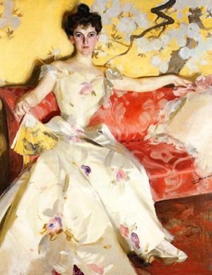 Portrait of Elizabeth Sherman Cameron  1900 | Anders Zorn | Oil Painting